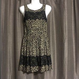 Up by Ultra Pink Cheetah print Small dress